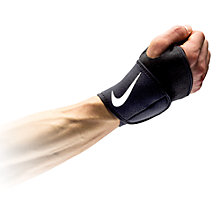 Buy Nike Wrist and Thumb Wrap 2.0, Black/White Online at johnlewis.com