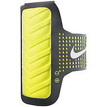 Buy Nike Distance Men's Running Armband for iPhone6 Online at johnlewis.com