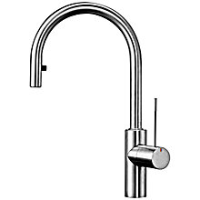 Buy KWC Ono Single Lever Pull-Out Spray Kitchen Tap Online at johnlewis.com