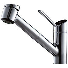 Buy KWC Bliss Single Lever Pull-Out Spray Kitchen Tap Online at johnlewis.com