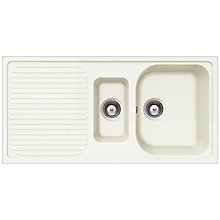 Buy Schock Lithos 1.5 Bowl Kitchen Sink Online at johnlewis.com