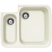 Buy Schock Solido Right Hand 1.5 Bowl Kitchen Sink Online at johnlewis.com