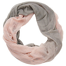 Buy Betty Barclay Two-Tone Snood, Grey/Rose Online at johnlewis.com