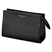 Buy Aspinal of London Classic Cosmetic Medium Leather Case Online at johnlewis.com