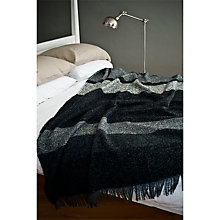 Buy Avoca Moyard Original Throw, Monochrome Online at johnlewis.com