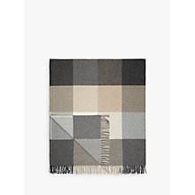 Buy Avoca Rome Throw, Grey Online at johnlewis.com