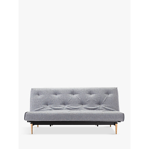 Buy innovation colpus sofa bed light grey john lewis for Sofa bed qatar living