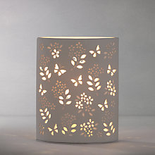 Buy John Lewis Shannon Table Lamp, Ivory Online at johnlewis.com