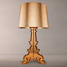 Buy Kartell Bourgie Table Lamp, Copper Online at johnlewis.com