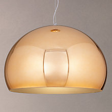 Buy Kartell FLY Pendant, Copper Online at johnlewis.com