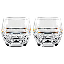 Buy Waterford Elysian Rocks Glasses, Set of 2 Online at johnlewis.com