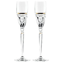 Buy Jo Sampson at Waterford Elysian Flute, Set of 2 Online at johnlewis.com