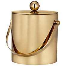 Buy Waterford Elysian Ice Bucket and Tongs Online at johnlewis.com