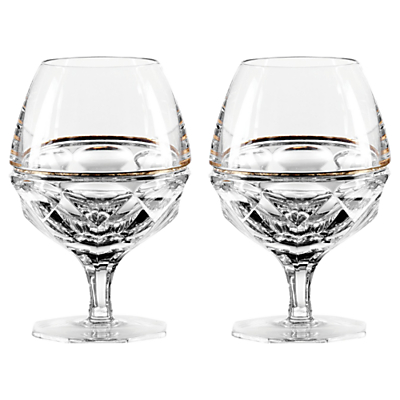 Jo Sampson at Waterford Elysian Brandy Clear, Set of 2
