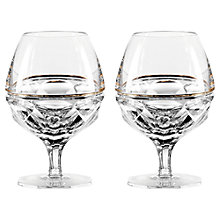 Buy Jo Sampson at Waterford Elysian Brandy Clear, Set of 2 Online at johnlewis.com
