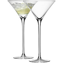 Buy LSA International Bar Collection Cocktail Glasses, Set of 2 Online at johnlewis.com