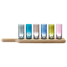 Buy LSA International Paddle Vodka Set, Coloured Online at johnlewis.com