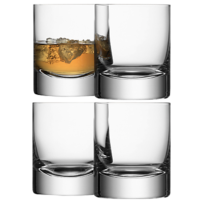 LSA International Bar Collection Tumbler, Set of 4
