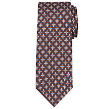 Buy John Lewis Archive Tile Print Silk Tie Online at johnlewis.com
