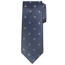 Buy JOHN LEWIS & Co. Moore Ditsy Leaf Silk Tie Online at johnlewis.com
