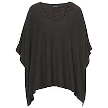 Buy Betty Barclay Poncho, Anthracite Melange Online at johnlewis.com