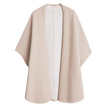Buy Mango Waterfall Poncho, Light Beige Online at johnlewis.com
