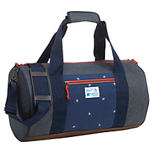 Buy Original Penguin Colour Block Holdall, Blue/Multi Online at johnlewis.com