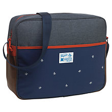 Buy Original Penguin Colour Block Messenger Bag, Blue/Multi Online at johnlewis.com
