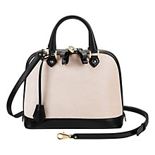 Buy Aspinal of London Hepburn Mini Leather Grab Bag Online at johnlewis.com