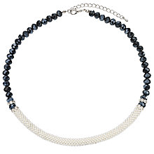 Buy John Lewis Split Effect Bead Necklace Online at johnlewis.com