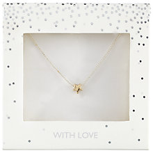 Buy John Lewis Star Pendant Necklace, Silver Online at johnlewis.com