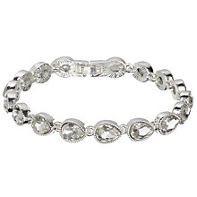 Buy John Lewis Tennis Bracelet, Silver Online at johnlewis.com