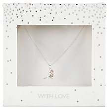 Buy John Lewis Robin Pendant Necklace, Silver Online at johnlewis.com