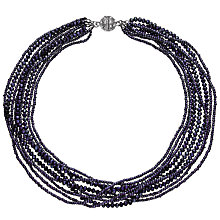 Buy John Lewis Sparkle Layered Twist Necklace Online at johnlewis.com