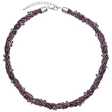 Buy John Lewis Sparkle Twist Necklace Online at johnlewis.com