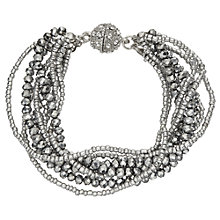 Buy John Lewis Sparkle Multi Row Bracelet Online at johnlewis.com
