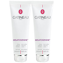 Buy Gatineau Melatogenine Refreshing Cleansing Cream Duo, 2 x 250ml Online at johnlewis.com