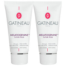Buy Gatineau Melatogenine Anti-Wrinkle Radiance Mask Duo, 2 x 75ml Online at johnlewis.com