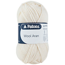 Buy Patons Wool Aran Yarn, 50g Online at johnlewis.com