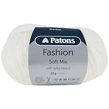 Buy Patons Soft Mix DK Yarn, 25g Online at johnlewis.com