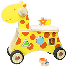 Buy Baby Ride-On Giraffe Shape Sorter Online at johnlewis.com