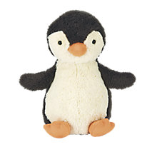 Buy Jellycat Peanut Penguin Christmas Soft Toy Online at johnlewis.com