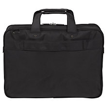"Buy Targus Corporate Traveller Topload Case for Laptops up to 15.6"", Black Online at johnlewis.com"