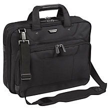 "Buy Targus Corporate Traveller Topload Case for Laptops up to 14.1"", Black Online at johnlewis.com"