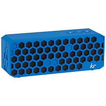 Buy KitSound Hive Bluetooth Wireless Portable Speaker with Built-In Mic Online at johnlewis.com