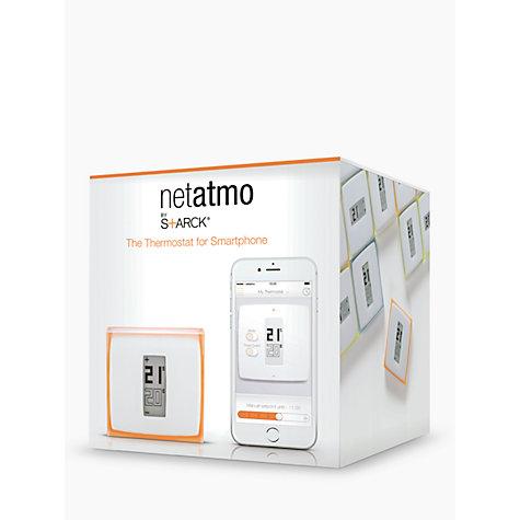 buy netatmo thermostat for smartphones john lewis. Black Bedroom Furniture Sets. Home Design Ideas