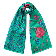 Buy East Franchesca Combo Scarf, Green Online at johnlewis.com