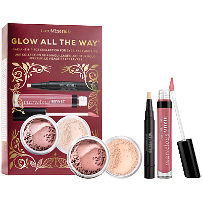 shop for bareMinerals Glow All The Way Makeup Gift Set at Shopo