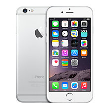 "Buy Apple iPhone 6, iOS, 4.7"", 4G LTE, SIM Free, 128GB Online at johnlewis.com"