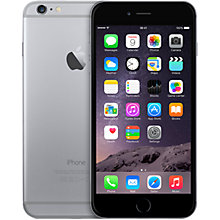 "Buy Apple iPhone 6 Plus, iOS, 5.5"", 4G LTE, SIM Free, 16GB Online at johnlewis.com"